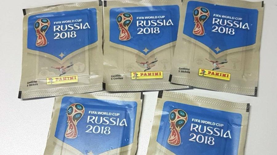Figurinhas do álbum oficial da Copa do Mundo vão às bancas nesta sexta-feira - UOL
