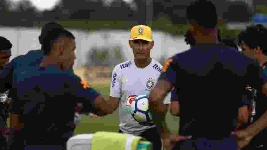Carlos Amadeu fracassou no Sul-Americano Sub-20 deste ano, disputado no Chile - Bruno Pacheco/CBF