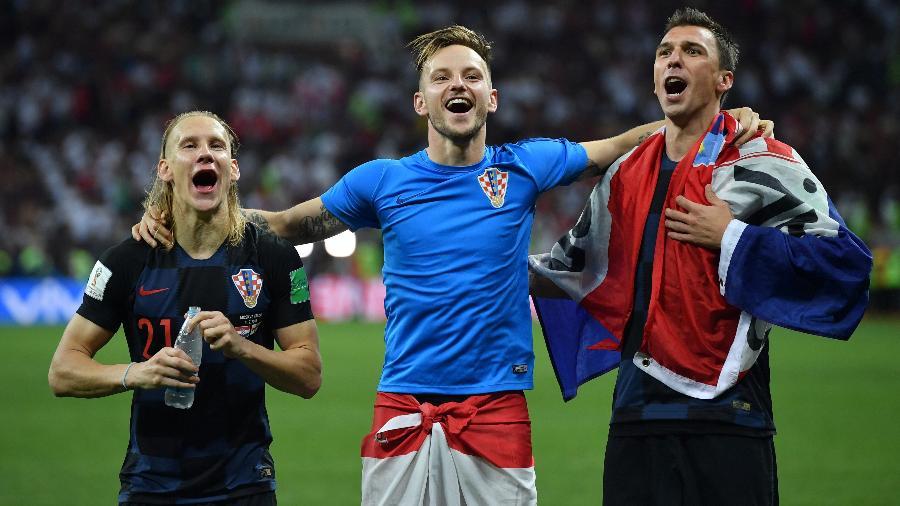 Croácia na Copa 2018  Rakitic motiva Croácia em busca do título ... ffe098fb91d7e