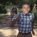 Corre, Mbappé, corre! O atacante francês deu uma de Forrest Gump no jogo contra a Argentina - Reprodução/Twitter