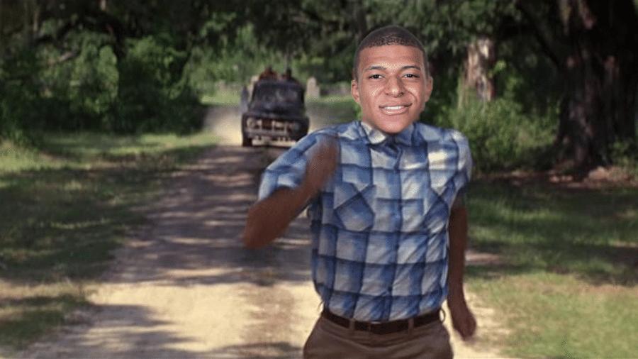 Corre, Mbappé, corre! O atacante francês deu uma de Forrest Gump no jogo contra a Argentina