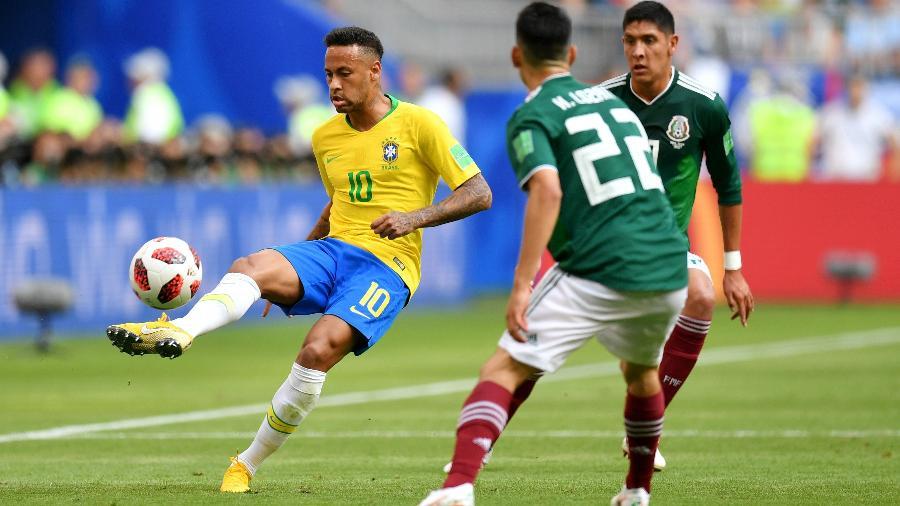 Resultado de imagem para jogo brasil x mexico copa 2018