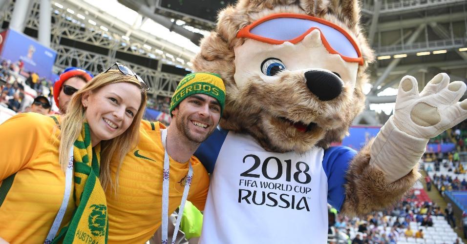 Australianos também estão em bom número na Arena Kazan