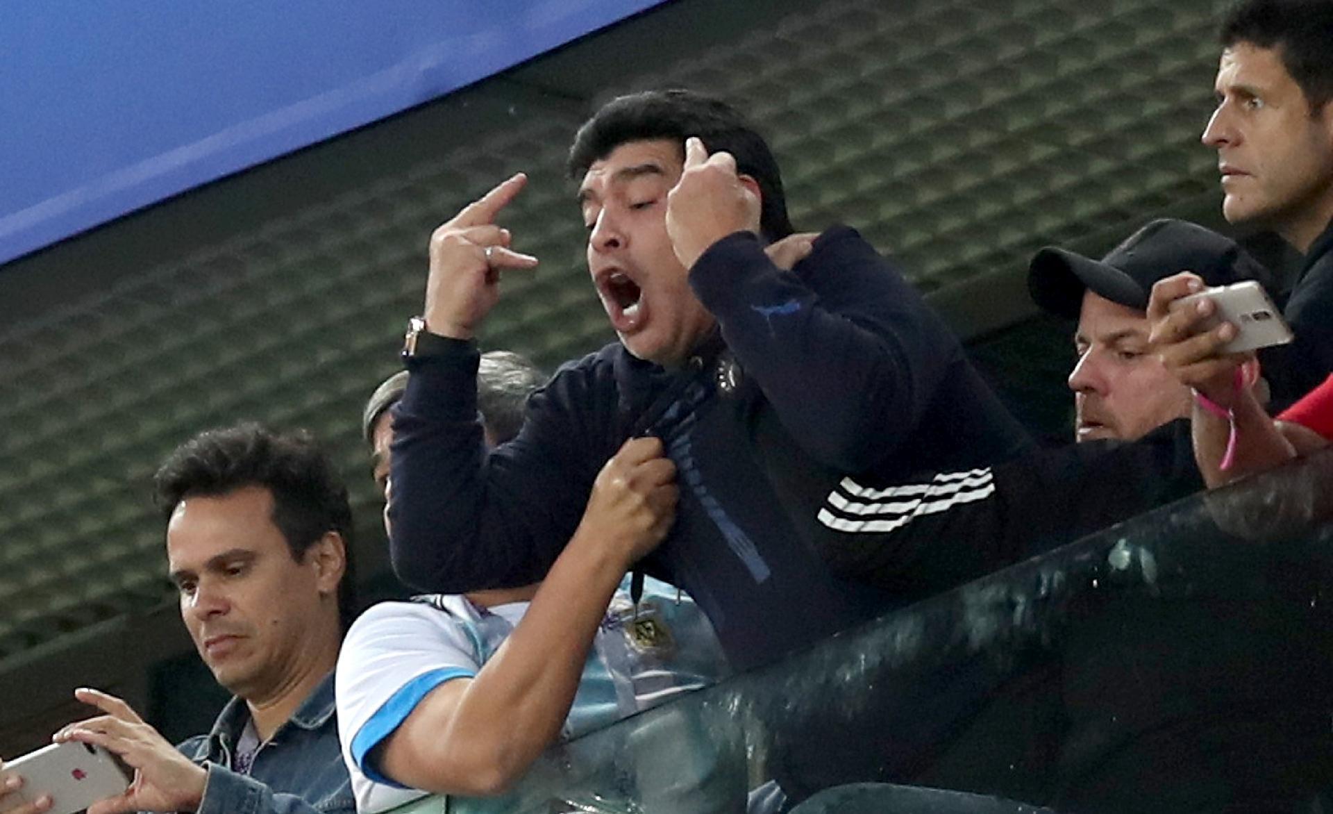 Argentina na Copa 2018  Dedo do meio c963f55038082