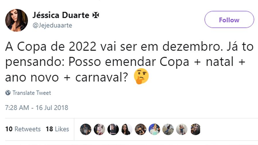 Meme Copa 2022 emendar com Carnaval