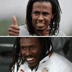 Alguns confundiram o técnico de Senegal com o Roque Júnior - Reprodução/Twitter