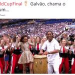 Eis que o Olodum marca presença até na final da Copa - Reprodução/Twitter