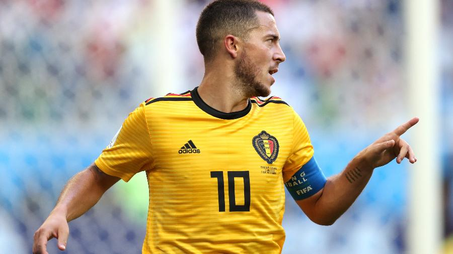 Em contragolpe rápido, Bélgica chegou ao segundo gol em chute de Eden Hazard - Getty Images