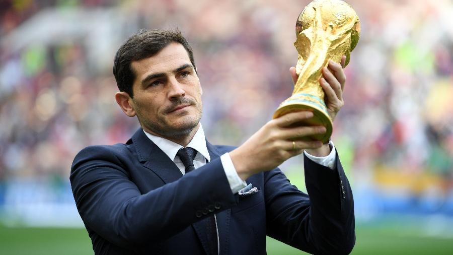 Iker Casillas foi Campeão com a Espanha no Mundial de 2010 - Michael Regan - FIFA/FIFA via Getty Images