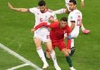 CR7 erra pênalti, Portugal empata com Irã e perde liderança no fim do jogo - Lucy Nicholson/Reuters