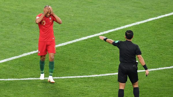 7da7ebab6bf70 Copa do Mundo 2018  CR7 erra pênalti