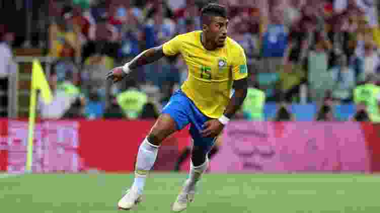 Paulinho seleção gol Sérvia - Simon Hofmann - FIFA/FIFA via Getty Images - Simon Hofmann - FIFA/FIFA via Getty Images