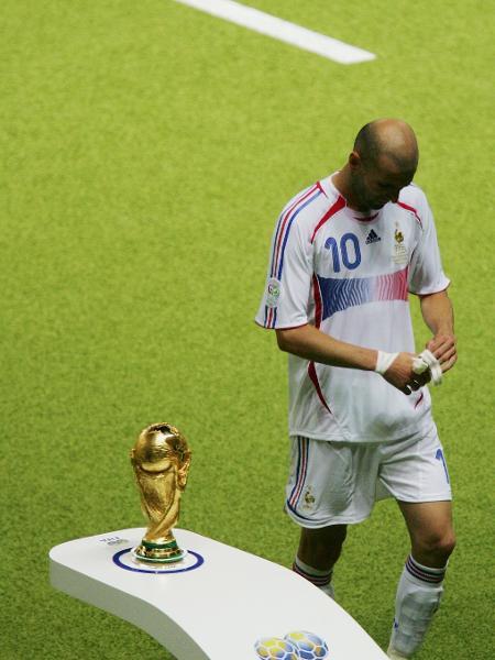 Arbitro Da Final Da Copa De  Nao Viu Cabecada De Zidane Em Materazzi