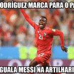Pelo menos o Panamá marcou dois gols na competição, mais do que o Messi - Reprodução/Twitter