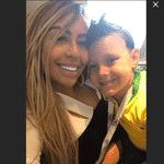Davi Lucca viajou com a tia Rafaella para Moscou. Os dois parentes de Neymar assistirão ao jogo da seleção em Moscou - Reprodução/Instagram