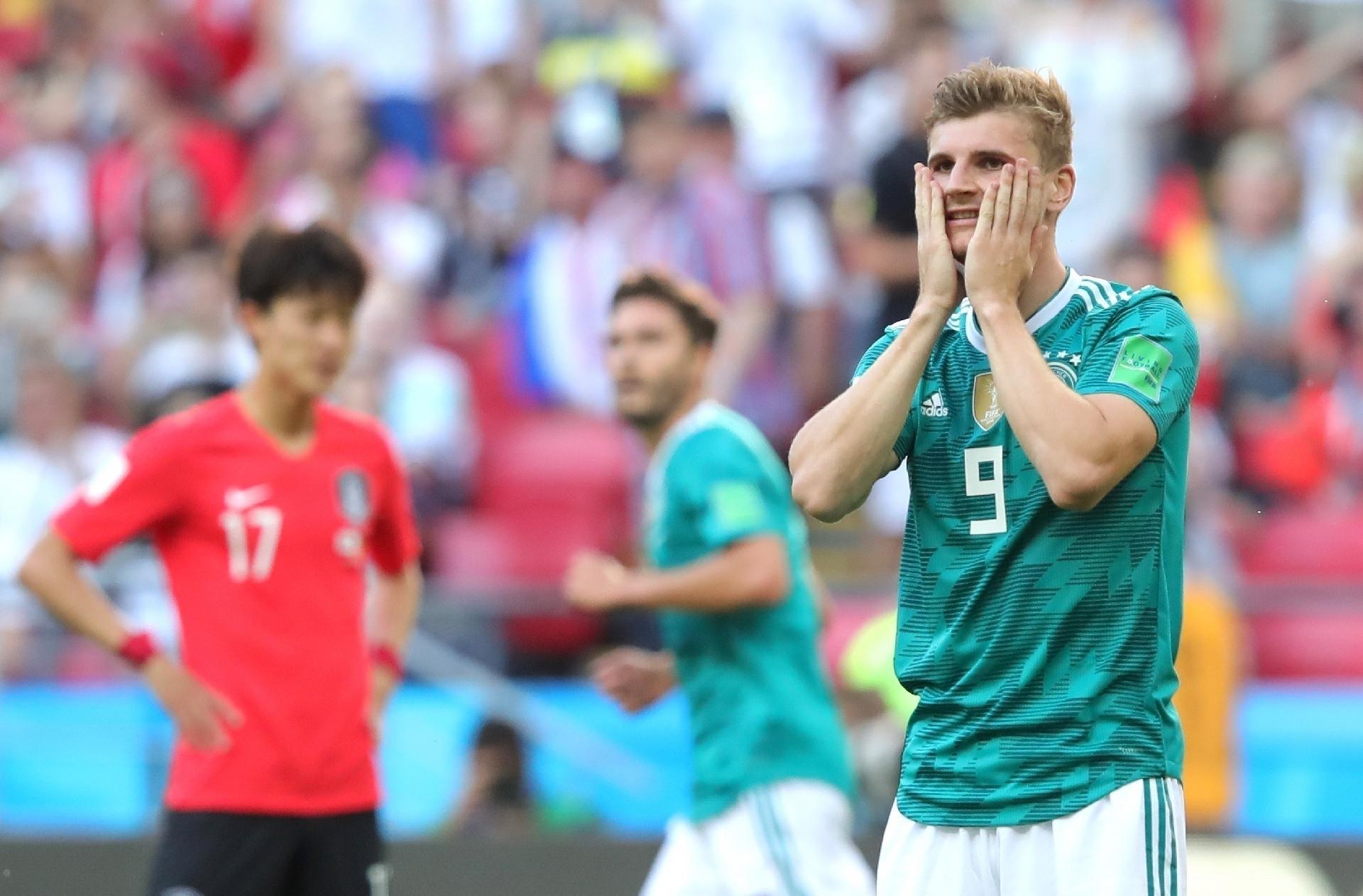 ab2feb3158 Copa do Mundo 2018  Alemanha perde da Coreia e é eliminada em maior vexame  de