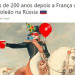 Finalmente, a França conseguiu ganhar alguma coisa em solo russo - Reprodução/Twitter