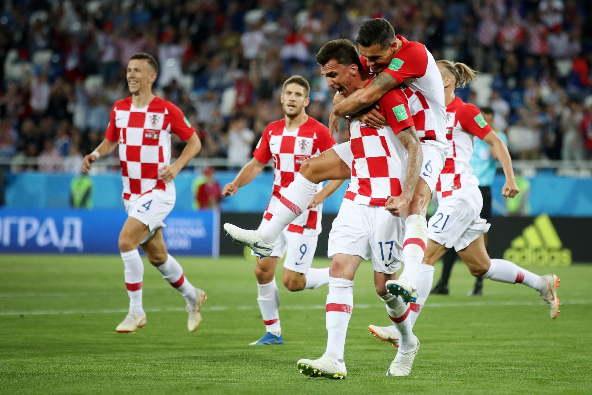 Copa do Mundo 2018  Com gol de Modric 4de5030ca0b91