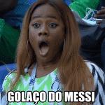 A Nigéria deu trabalho, mas se rendeu ao talento de Messi, que abriu o placar com um golaço - Reprodução/Twitter
