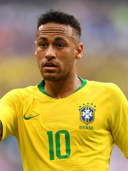 O jogador brasileiro Neymar - Getty Images