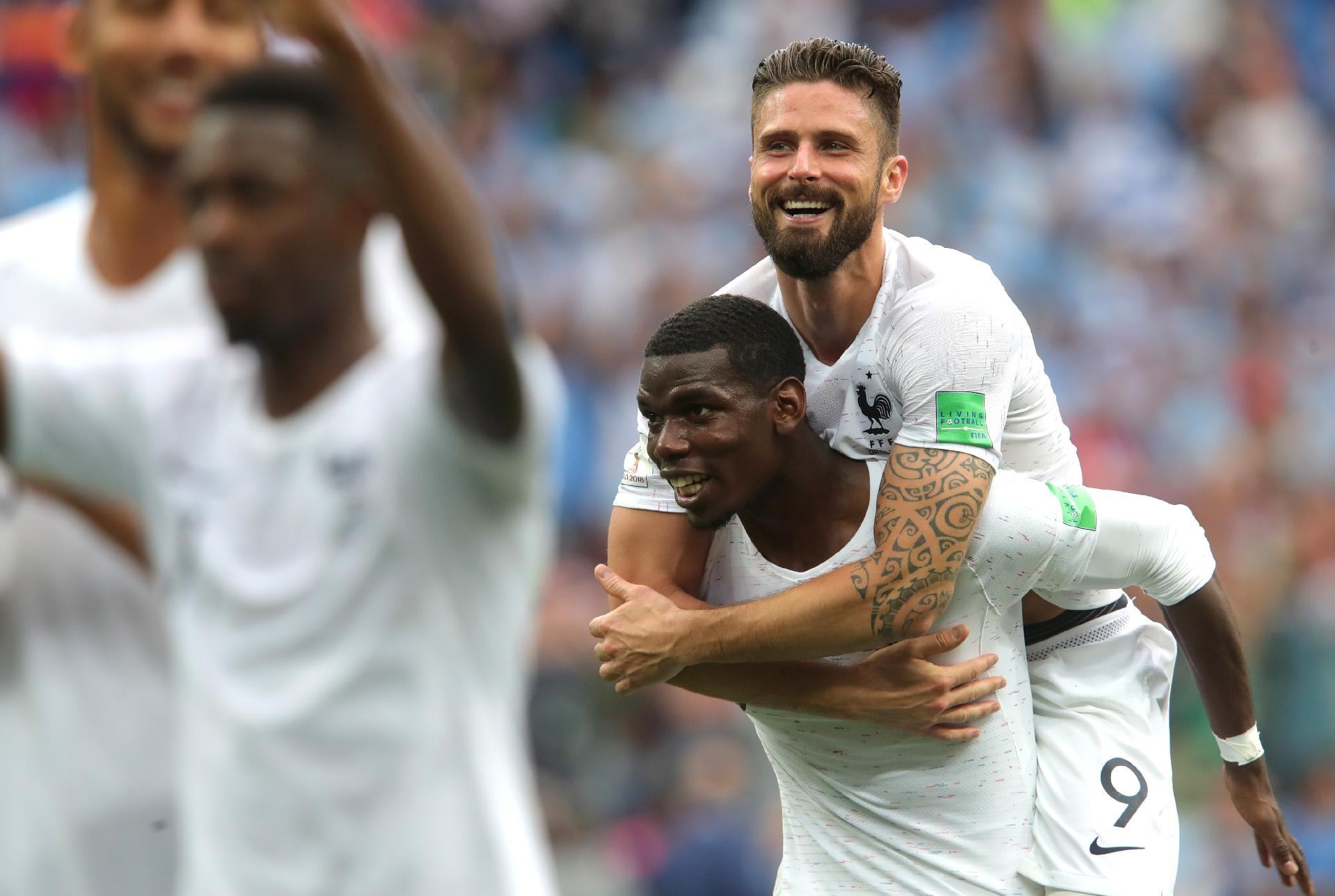 3194f3b19c França na Copa 2018  França ignora pouca idade e mostra que pode vencer  qualquer tipo de jogo - UOL Copa do Mundo 2018