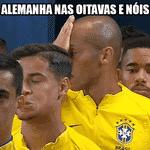Por outro lado, se o jogo contra a Costa Rica já foi nervoso, imagine contra a Alemanha - Reprodução/Twitter
