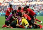 Torcida pede dispensa militar para jogadores-heróis da Coreia do Sul - Getty Images