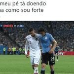 Uma bela demonstração de fair play do astro português, sempre muito humilde - Reprodução/Twitter