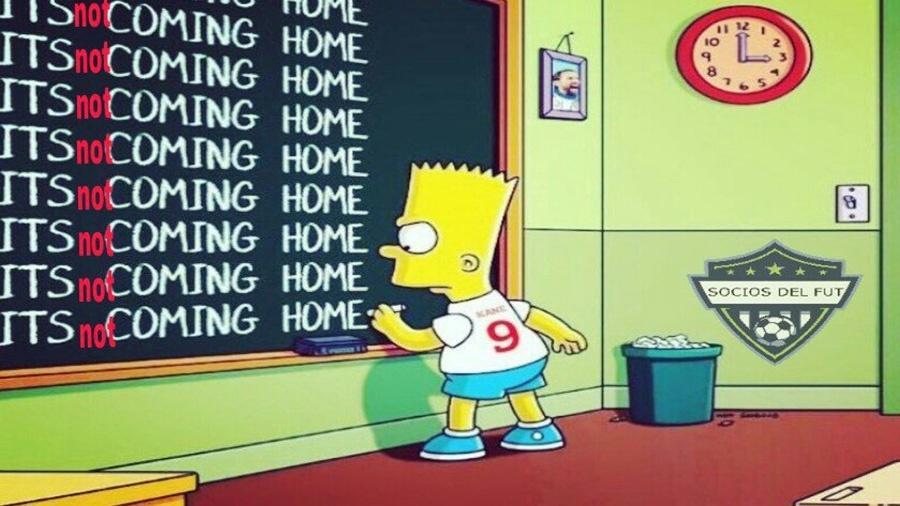 """""""O futebol não está voltando para casa"""", repete o torcedor inglês"""