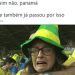 A goleada da Inglaterra sobre o Panamá trouxe más lembranças aos torcedores brasileiros - Reprodução/Twitter