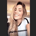 Mulher de Firmino, Larissa Pereira também seguiu a Moscou para assistir ao jogo do Brasil contra a Sérvia - Reprodução/Instagram