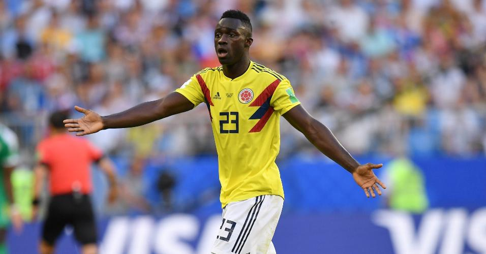 Davinson Sanchez, da Colômbia
