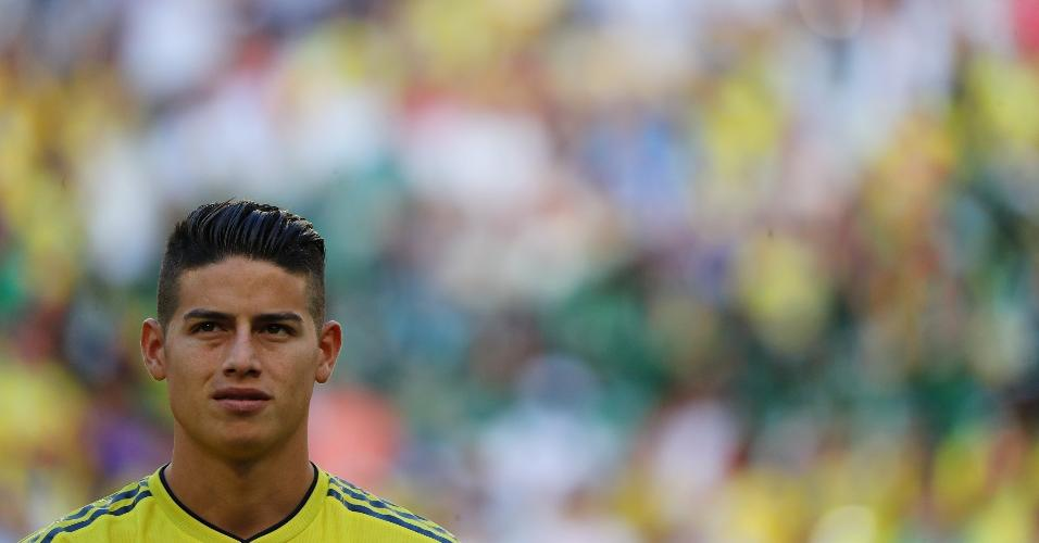 James Rodriguez, estrela da seleção da Colômbia