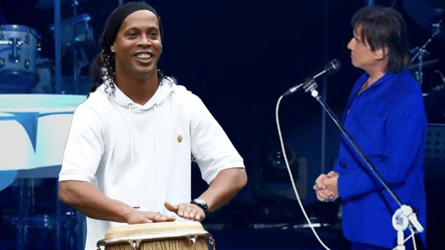 Meme Ronaldinho especial Roberto Carlos
