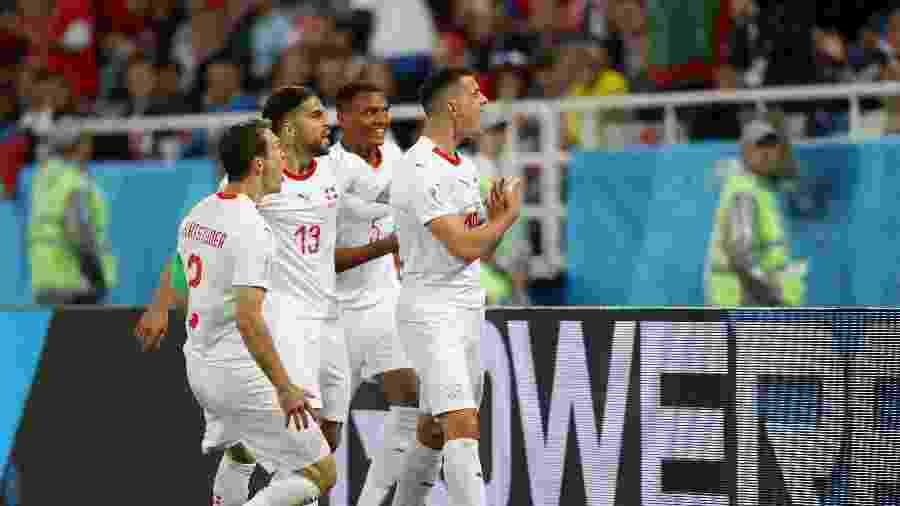 Com quatro pontos, Suíça só precisa de um empate contra a eliminada Costa Rica para avançar - Clive Rose/Getty Images