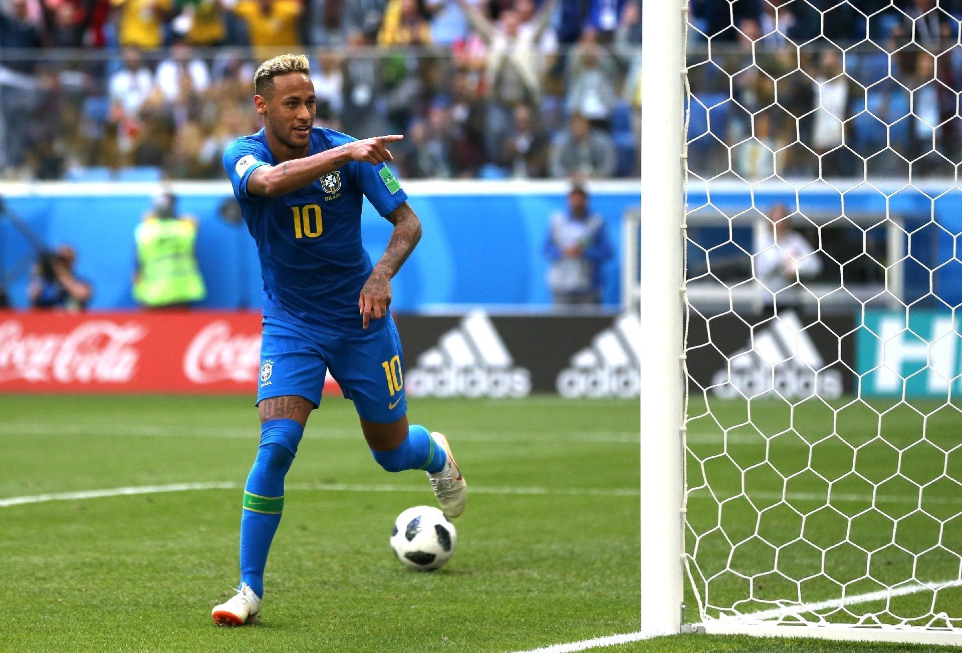 Neymar supera Romário em gols pela seleção brasileira - 22 06 2018 - UOL  Esporte 2ac86ac92f4f9