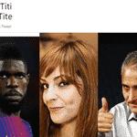Álbum de trocadilhos: Samuel Umtiti - Reprodução/Twitter