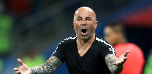Sampaoli é obcecado pelo departamento de análise e desempenho e promete reforçar - Gabriel Rossi/Getty Images