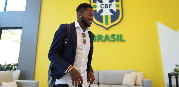 Fred está com a seleção brasileira em preparação para a Copa do Mundo - Lucas Figueiredo/CBF