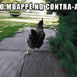 Toda vez que o Mbappé corria com a bola, os argentinos se apavoravam - Reprodução/Twitter