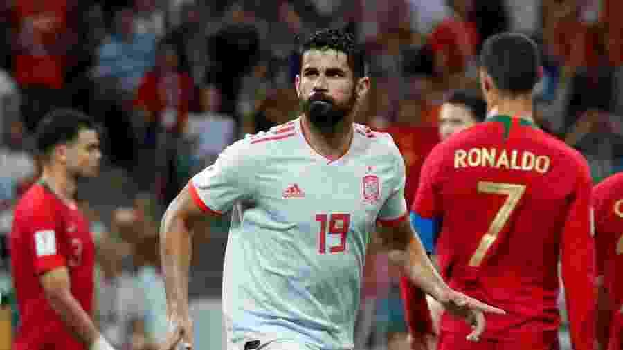 Diego Costa convence Espanha e muda foco de debate para De Gea - Murad Sezer/Reuters