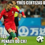 O primeiro gol foi de pênalti, para não perder o costume - Reprodução/Twitter