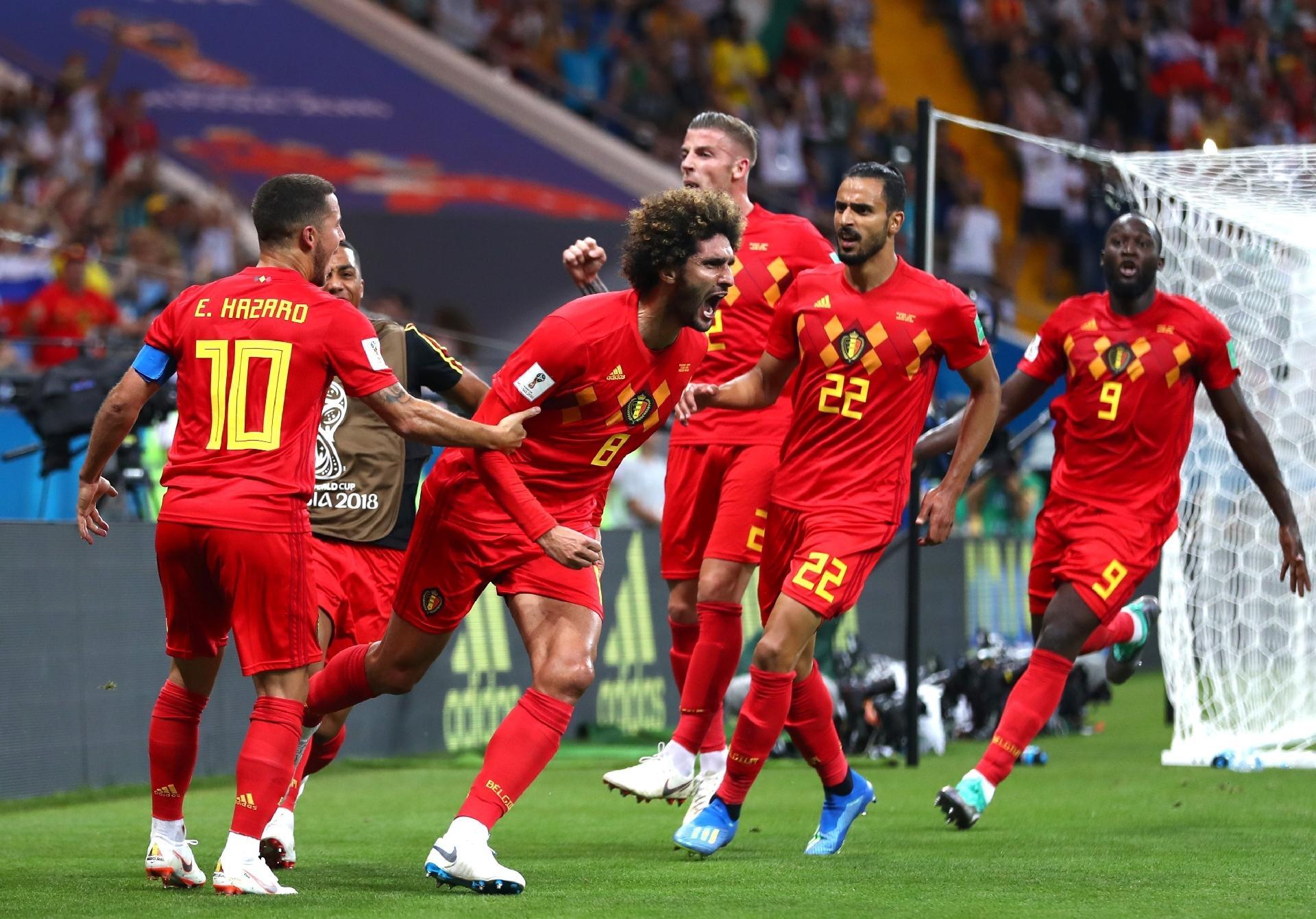 Copa do Mundo 2018  Bélgica consegue virada impressionante contra Japão e  enfrentará Brasil - UOL Copa do Mundo 2018 7555dd89e076e
