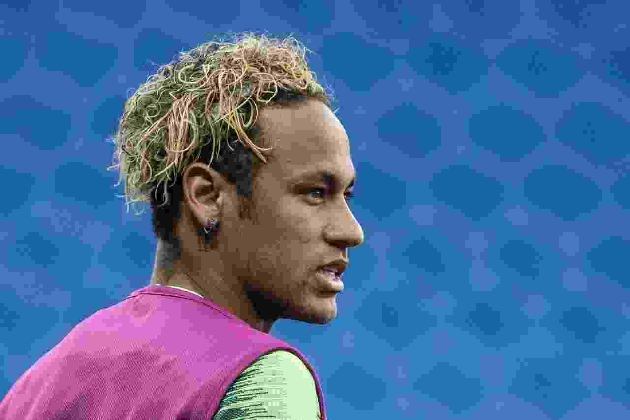 Neymar muda o penteado antes da estreia da seleção brasileira na Copa - Pedro Martins/Mowa Press