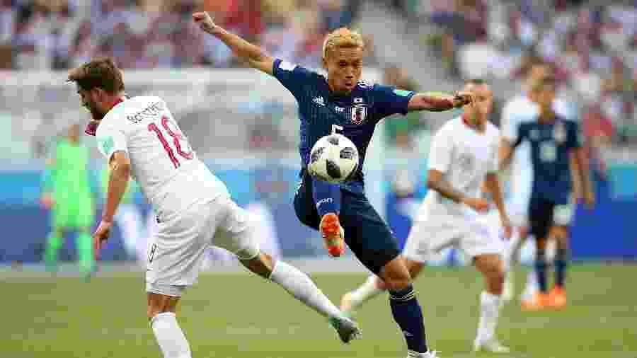 Yuto Nagatomo já defendeu a seleção japonesa em três edições da Copa do Mundo - Alex Livesey/Getty Images