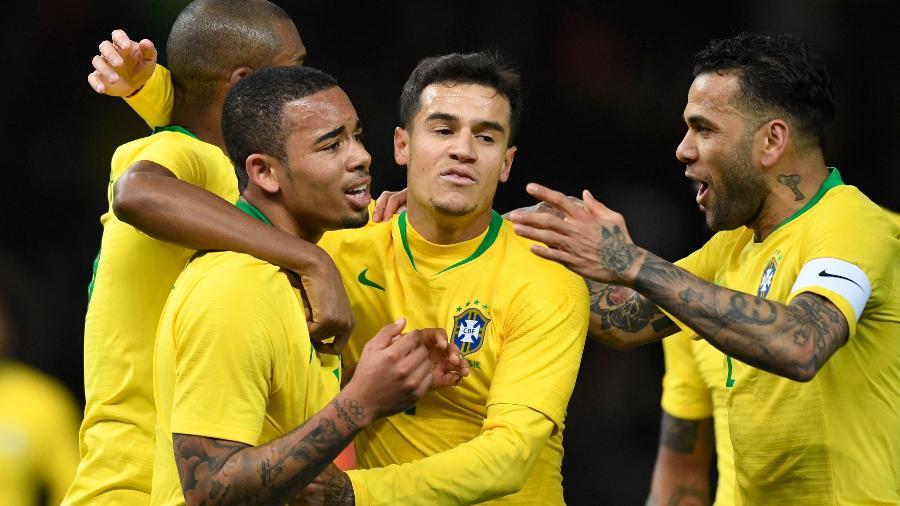 Mais de 500 mil tweets foram contabilizados durante a partida vencida pelo Brasil  - Robert Michael/AFP