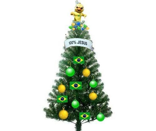 Meme Árvore de Natal Copa 2022