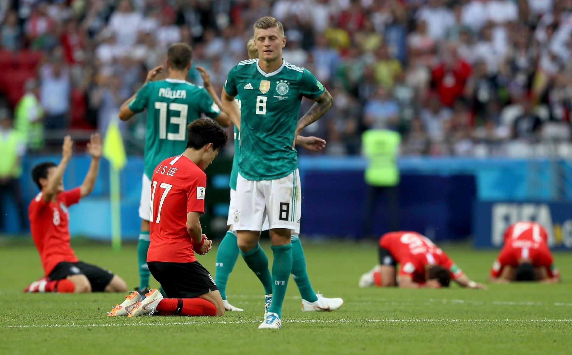 Alemanha na Copa 2018  Kroos lamenta eliminação da Alemanha