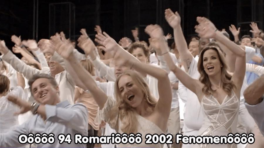 Meme vinheta Globo Copa 2022
