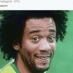 O marroquino Bouhaddouz não teve a mesma sorte de Marcelo: seu gol no final do jogo contra decretou a derrota para o Irã - Reprodução/Twitter